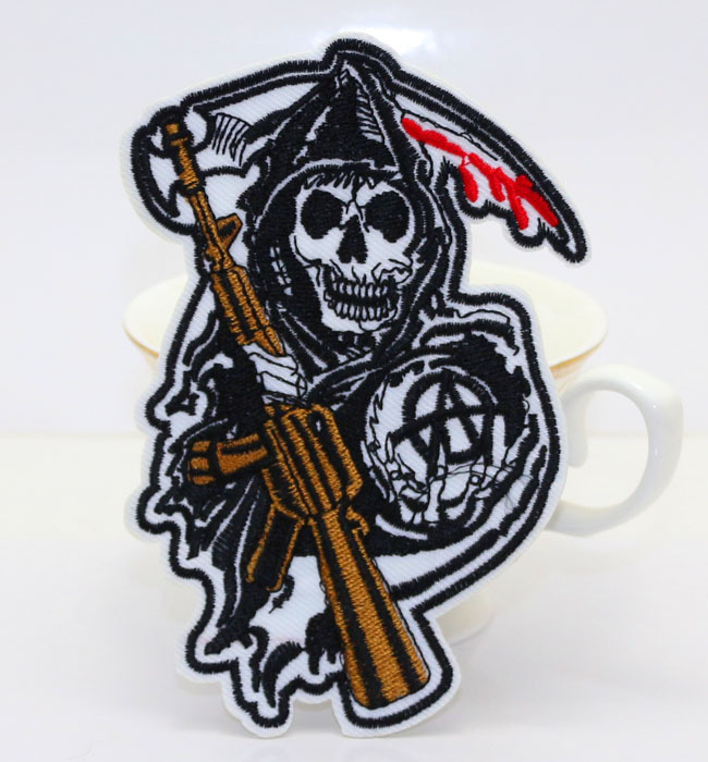 Sons of Anarchy Iron on Patches Sons of Anarchy Iron on