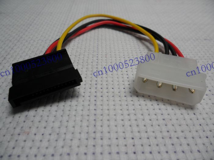 NEW SATA Adapter CabIe Molex IDE to Serial ATA Power Adapter FreeShip(China (Mainland))