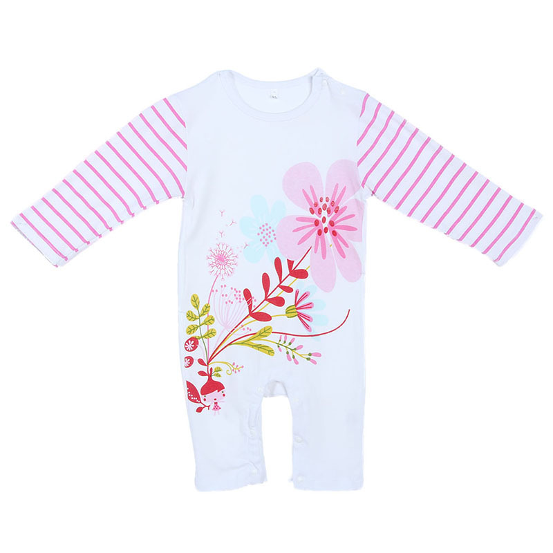New Arrival Newborn Cartoon Baby Rompers One Pieces Baby Romper Infant Animal Boys Girls Half  Sleeve Jumpsuits<br><br>Aliexpress