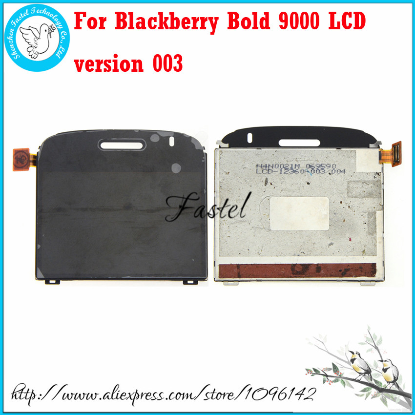 For Blackberry Bold 9000 LCD version 003 Black or White Original LCD screen digitizer display+Frame Assembly+Tools+Free shipping(China (Mainland))