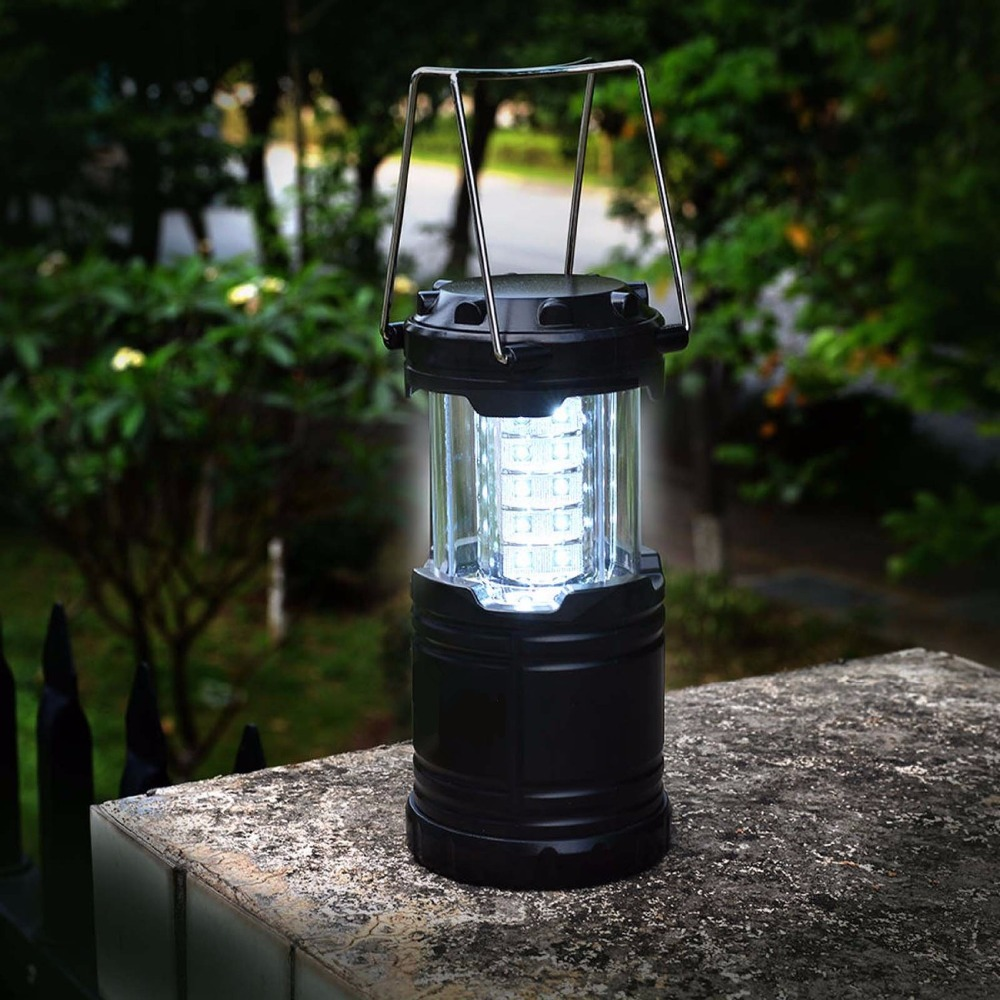 Outdoor Lights Portable: New Foldable Portable Outdoor LED Lighting Camping