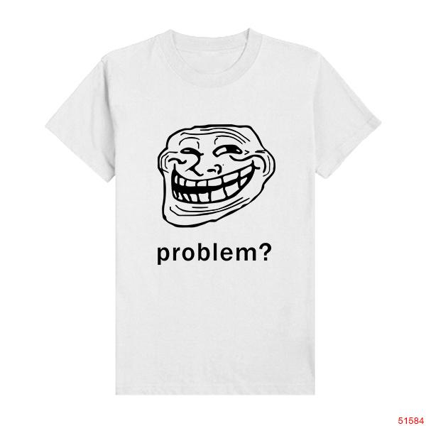 Troll Face t Shirts Problem Trollface Troll Face