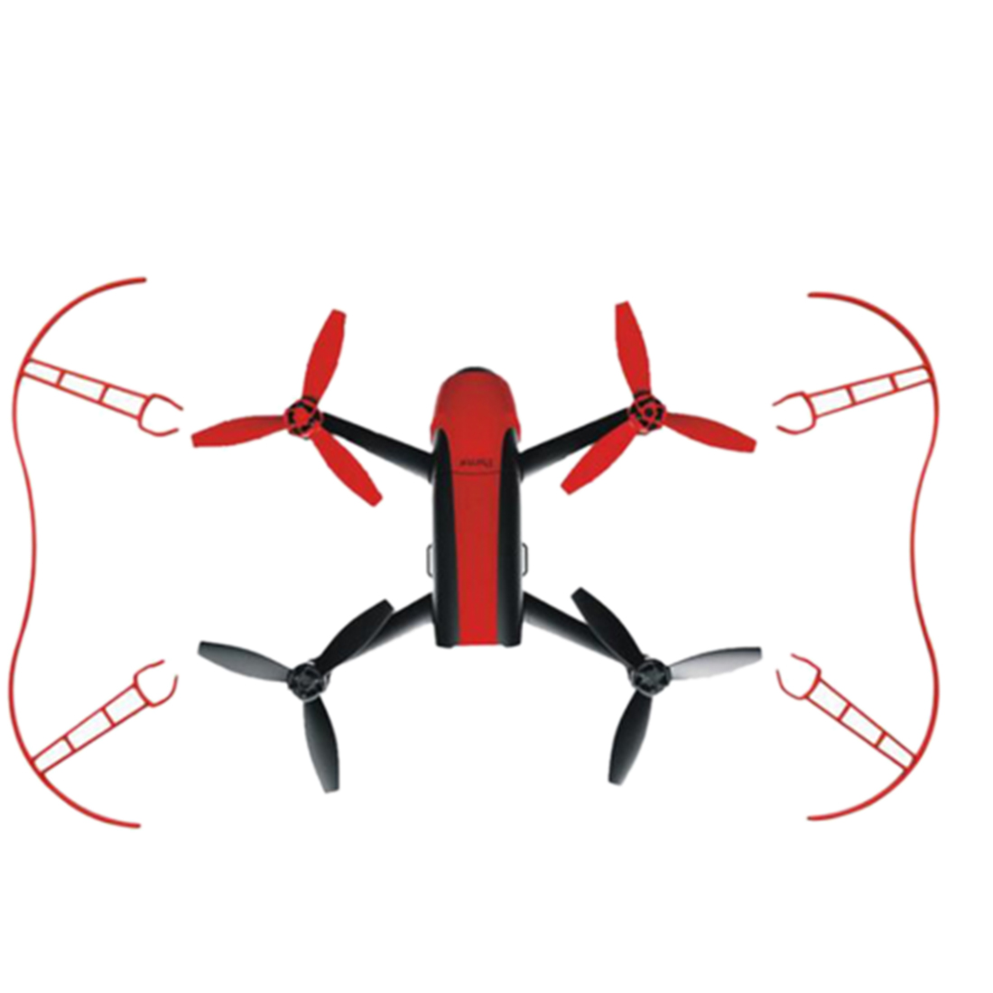 New Parrot Protection ring Propeller Protective Guard Bumper Prop for Parrot Bebop 2.0 RC Drone Quadcopter Parts Accessories