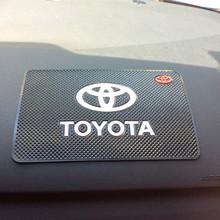 Free shipping car anti slip mat Dashboard pad for TOYOTA Corolla Camry Vitz Highlander CROWN RAV4 REIZ Prado LAND CRUISER Venza(China (Mainland))