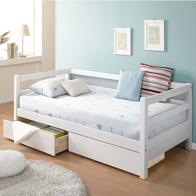 bed small apartment sofa daybed childs bed can be customized size ...