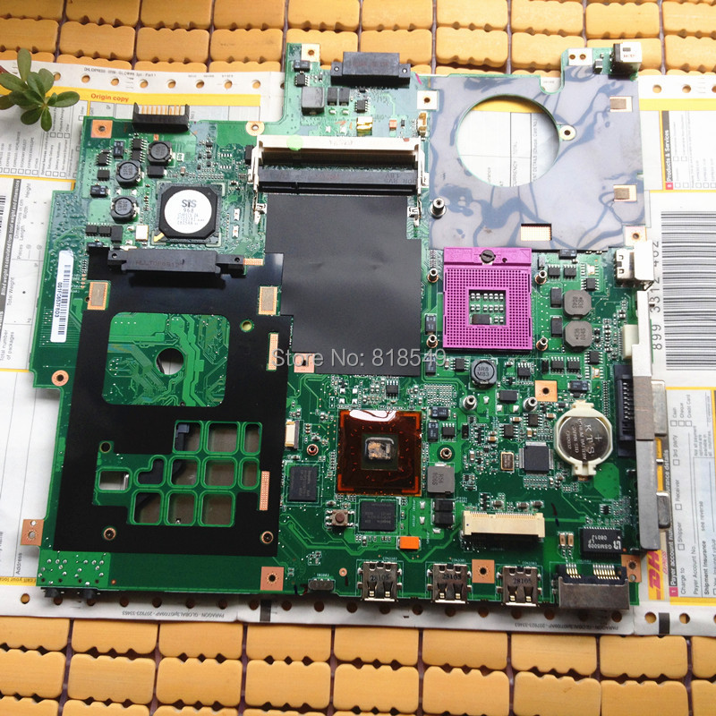 System Motherboard for Asus PN: 08G2005FS20G F5SL X59SL 100% Tested & Working perfect Warranty 90 days free shipping(China (Mainland))