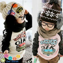 free shipping 2015 spring male child car baby long-sleeve fleece outerwear sweatshirt(China (Mainland))