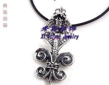 fashion vintage popular sterling silver pendant of necklace