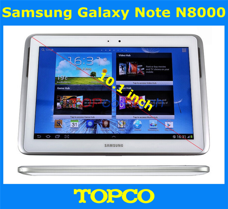 """Original Samsung Galaxy Note 10.1 N8000 Unlocked Android GSM 3G Quad-core Mobile Phone Tablet 10.1"""" WIFI GPS 5MP 16GB Storage(China (Mainland))"""