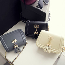 Tassel Women Mini Crossbody Bags 2016 New Japanese Korean Fashion Casual Famous Design Fringed Small Shoulder Handbags Bab33259