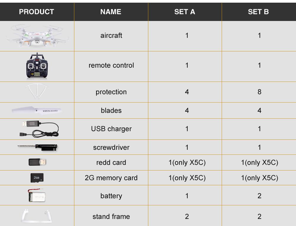 Original Syma X5A-1 X5C 2.4G 4CH Remote Control Quadcopter Direct Manufacturer Outdoor Indoor Rc UAV