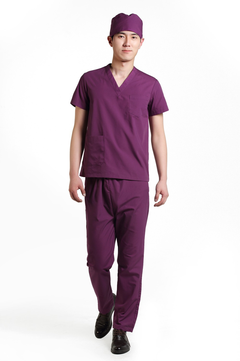 2015 OEM men medical scrub sets uniformes medicos hospital medical scrub set clothes surgical gowns(China (Mainland))