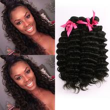 Brazilian Deep Wave Virgin Hair Brazilian Hair Weave 5 Bundles Curly Weave Human Hair 8a Unprocessed Virgin Hair Extensions Soft