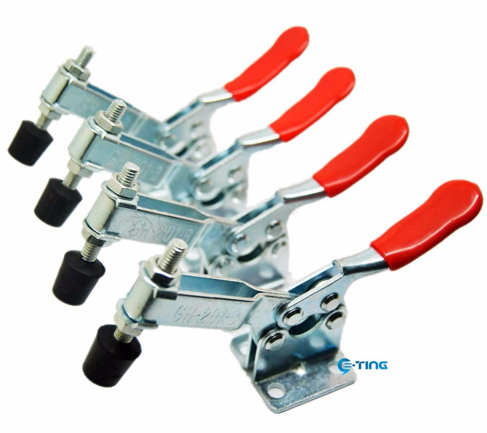Hand Tool Toggle Clamp 201B Red Plast Horizontal Clamp Quick Release Tool New