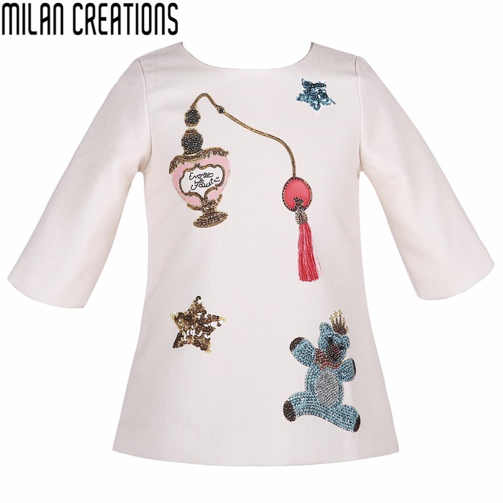 Toddler Girl Dresses 2016 Autumn Winter Brand Children Dress Kids Clothes Bear Pattern Mode Enfant Girls Dress Princess Costume(China (Mainland))