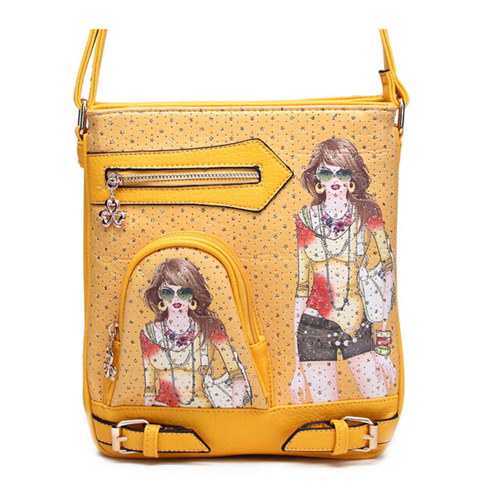 2016 New Small Crossbody Bag Women Famous Brands Designers National Pu Leather Handbag Purse Shoulder Bag Designer Hand Bags(China (Mainland))