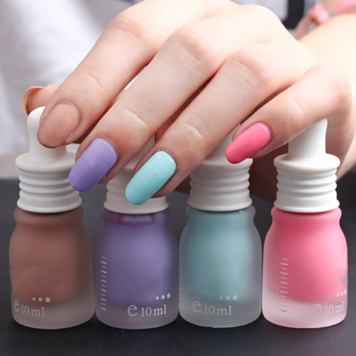 New 30 Colors 10ML Fragrance Frosted Matte Bottle Nail Polish Candy(China (Mainland))