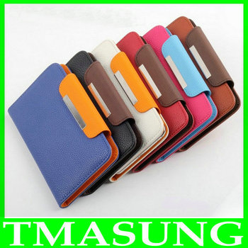 Free shipping  wallet pu Flip Leather case Cover For THL W100 W100S  Lenovo A820  s750 a760  TOOKY T86 M1W  A6W A6  phone