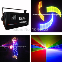 Most popular 3D effect 2000mw full color RGB animation laser stage light(China (Mainland))