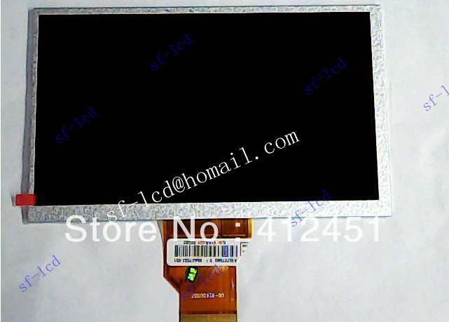 Original New 7-inch LCD screen display panel for RAMOS W9 W10 NEWSMY newspad P7 E73 Gemei GM2000 Tablet PC MID free shipping(China (Mainland))