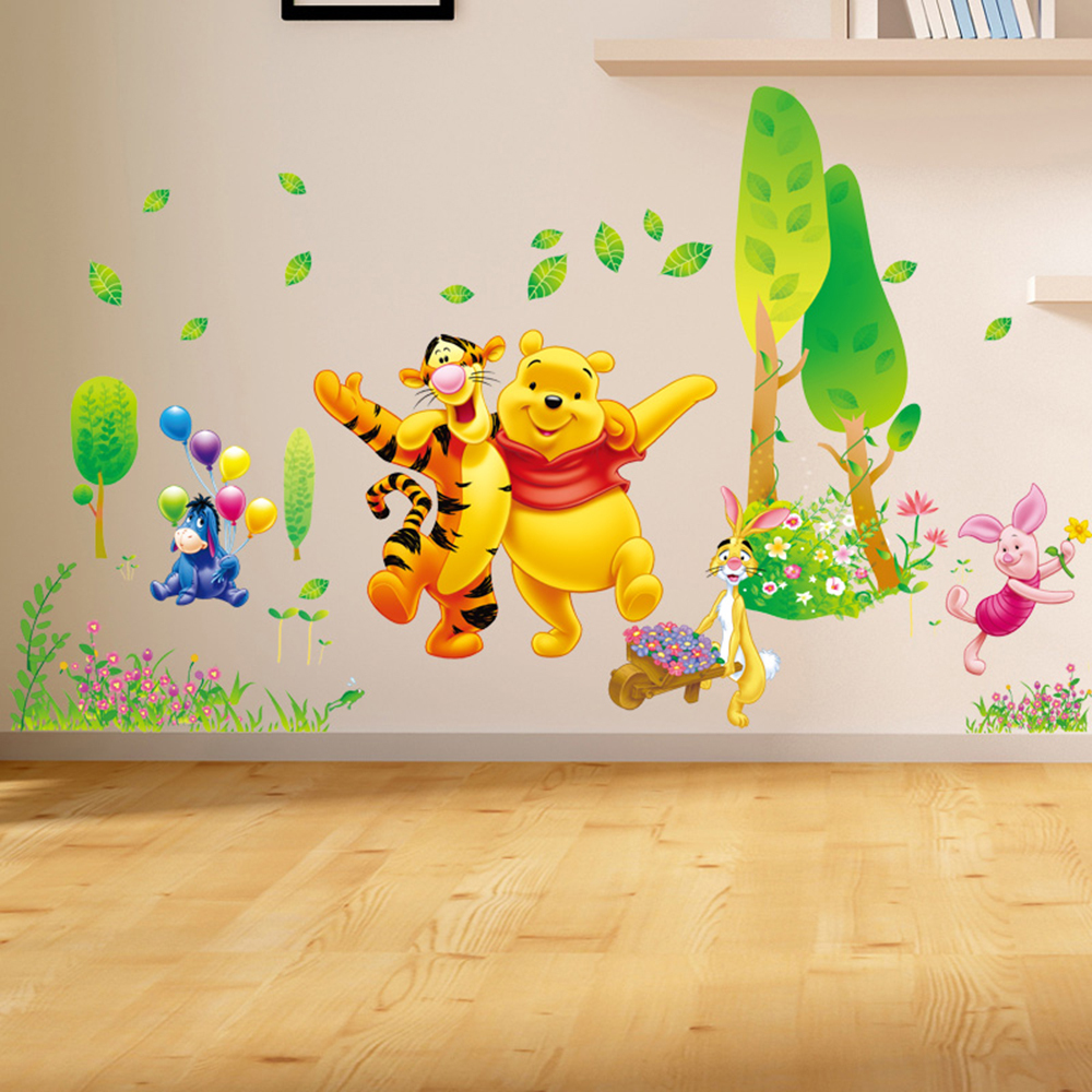Emejing Decoration Chambre Bebe Winnie L Ourson Pictures - Design ...