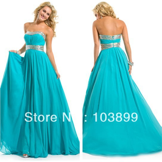 Cheap Teal Prom Dresses - Long Dresses Online