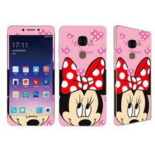 Buy 9H 0.25 HD Front Tempered Glass screen protector Letv 2 Le2 Le 2 Pro Leeco Le2 Kitty Minnie Glitter Sticker film back case for $3.75 in AliExpress store