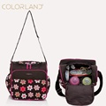 Colorland mummy bag small single shoulder bag Mummy Bag multifunctional baby nappy bag changing diaper