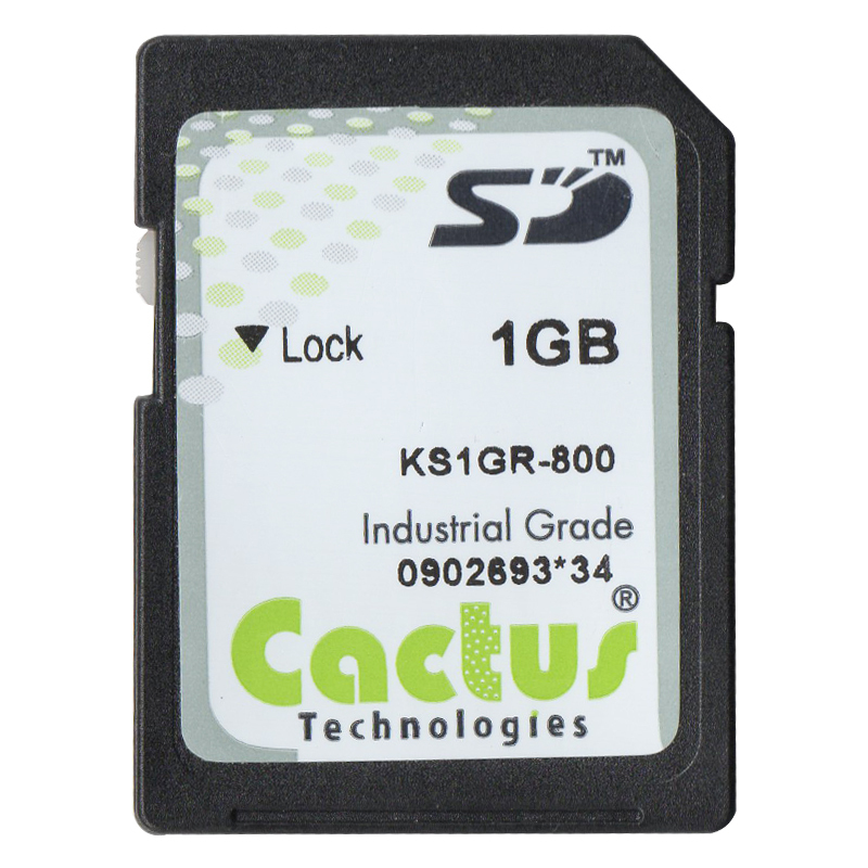 Cactus Technologies Industrial Grade1GB SD Card Secure Digital SD Memory Card(China (Mainland))
