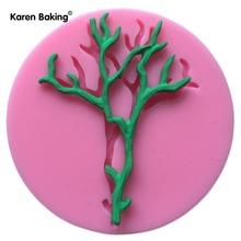 hot selling tree shape stamping soap mold silicone mold cake fondant mold chocolate handmade soap mold --- C750(China (Mainland))
