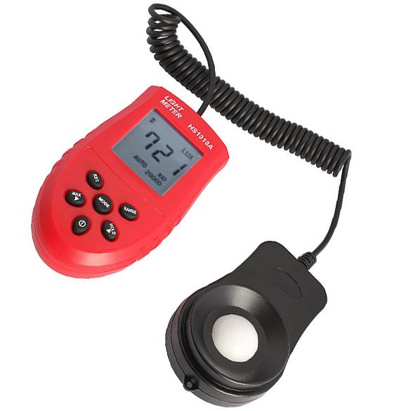 Digital Light Meter Luminance Meter Luxmeter Photometer 3 Range Lux BS88(China (Mainland))