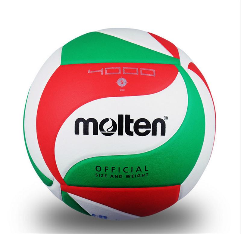 Molten Volleyball, PU Soft Touch Offical Size -NEW waterproof, match volleyball ball, free shipping(China (Mainland))