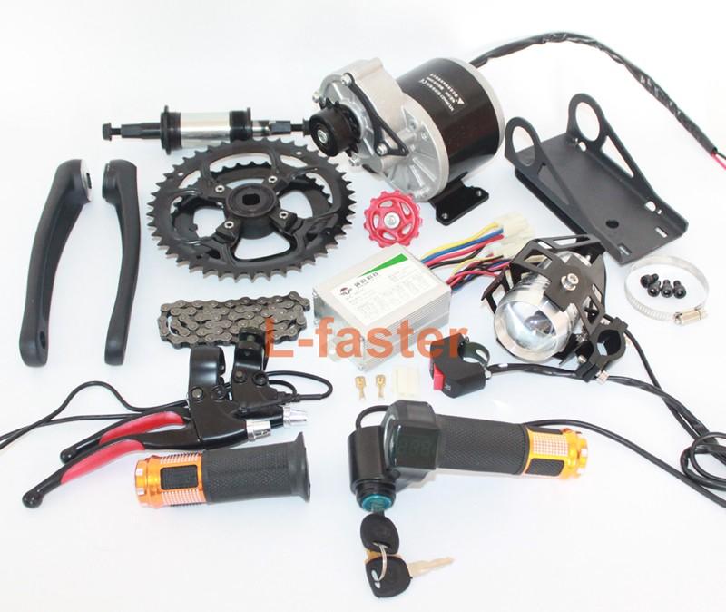 Upgrade 48v 450w Electric Mountain Bike Conversion Kit