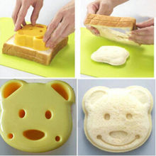 Sandwich Mold Bear Shape Toast Bread Sushi Mould Maker Stamp Cutter Cookies(China (Mainland))