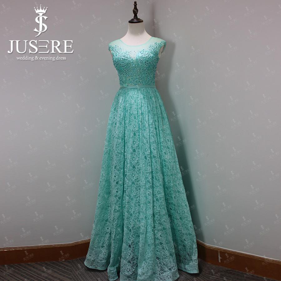 Aliexpress.com : Buy Mint Green Long Lace Pattern Slim ...