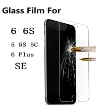 Premium Tempered Glass Screen Protector for iPhone 6 6S Toughened protective film cover For iPhone 6 / 6s 4 .7inch Free Shipping(China (Mainland))