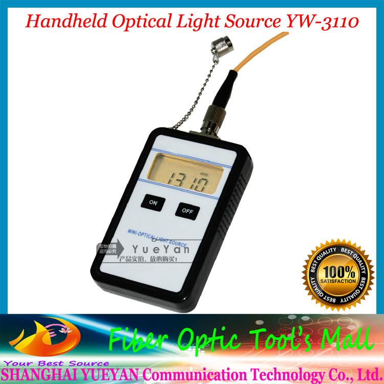 2014 Free Shipping Hot Handheld Laser Fiber Optic Test Mini Optical Light Source 1310nm YW-3110A(China (Mainland))