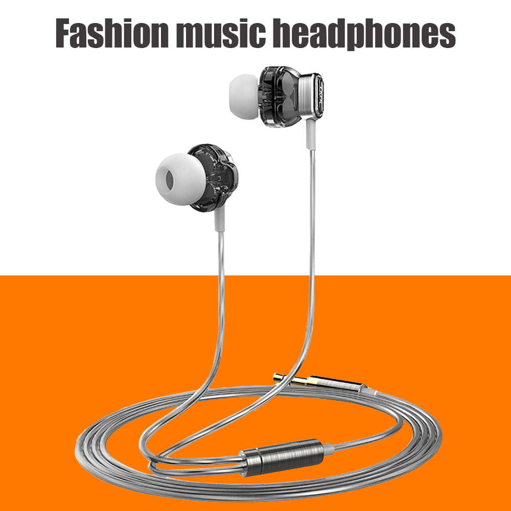 New 2016 Original Lker i1 Dual Dynamic Earphone with Parataxis Frequency Division Earbuds 2 Driver Unit Headset bests as IE800(China (Mainland))