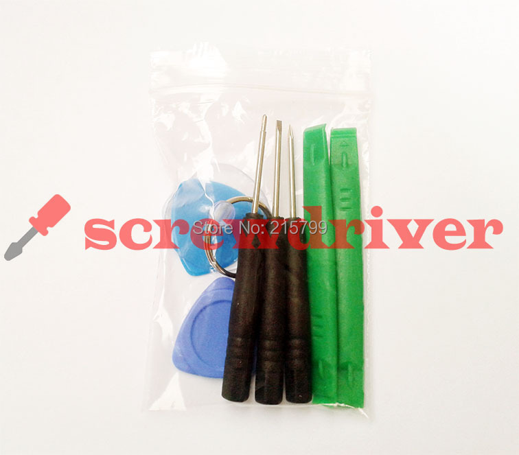 8 in 1 Repair Pry Kit Opening Tools With 0.8Pentagon 1.5 Phillips 2.0 Straight Screwdriver For Samsung Phone 500sets(4000pcs)(China (Mainland))