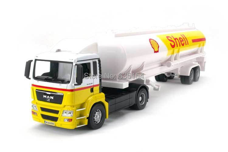 Brand New Cool 1/32 Scale Truck Toys Very Big Oil Tank Truck Diecast Metal Car Model Toy For Gift/Kids -Free Shipping(China (Mainland))
