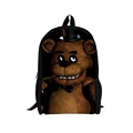 New 2016 Fashion Children Cartoon Backpacks Cool Bloody Five Nights at Freddy s Game Printing Backpack