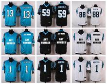 100% Stitiched,Carolina Panthers,Cam Newton,Josh Norman,Luke Kuechly,Greg Olsen,Kelvin Benjamin,customizable(China (Mainland))
