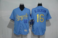 Mens 4 Alex Gordon 5 George Brett 13 Salvador Perez 35 Eric Hosmer 100% stitched Flexbase New blue gold baseball Jerseys(China (Mainland))