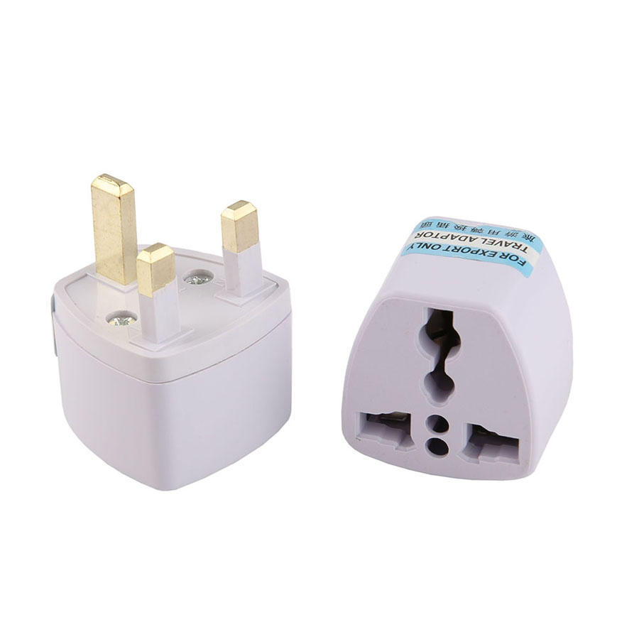 1PCS Universal EU AU UK to EU Plug Socket Portable Travel Wall Charger Converter High Quality AC Power Adapter Outlet Conversion