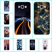 TPU Soft Case Samsung Galaxy J5 2016 J510 Printing Drawing Silicone Cases Cover Phone Bags - Graceful Store store