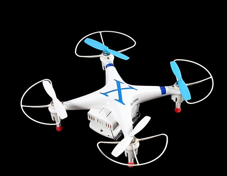 Cheerson CX-30W CX30W 6-Axis Gyro Mini WiFi RC Quadcopter with Digicam Handle by using iPhone