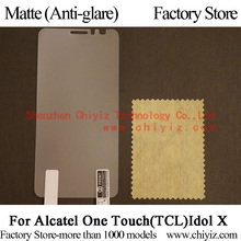 Matte Anti-glare Screen Protector Guard Cover protective Film For TCL idol X S950 Alcatel One Touch Idol X 6040 6040E 6040A