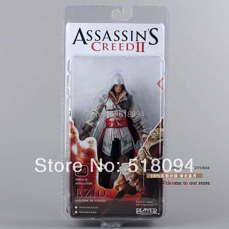 NECA assassin's creed ii Эцио ПВХ