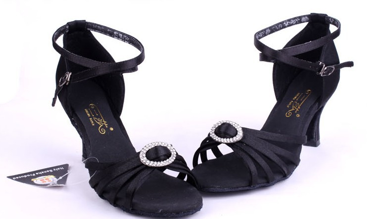 Black Tango Shoes Tango Latin Dance Shoes
