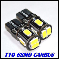 Hot Sale External Lights 10x Error Free T10 Canbus Led w5w canbus led 194 5630 5730 6Smd Light Bulb Shipping Car Lamp Wholesale